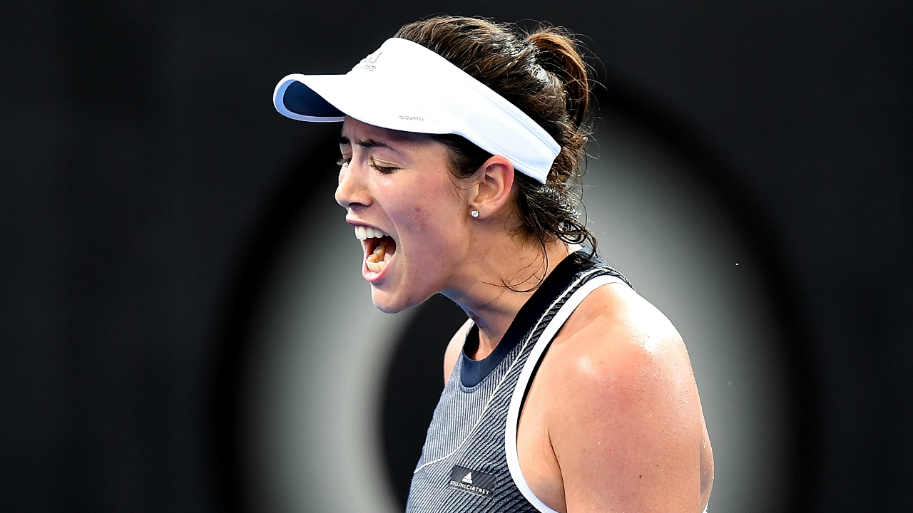 Muguruza retires with leg cramps at Brisbane