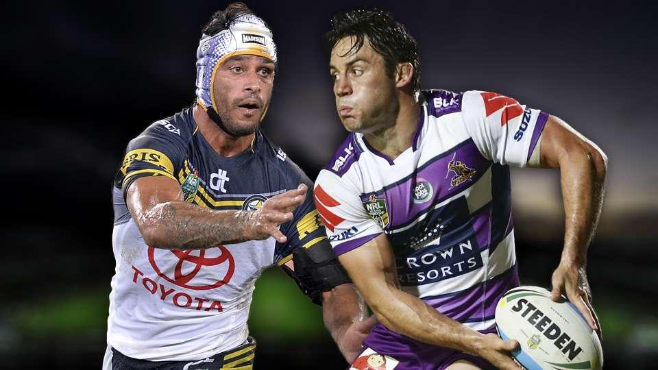Nrl Round  Preview North Queensland Cowboys V Melbourne Storm League Sporting News