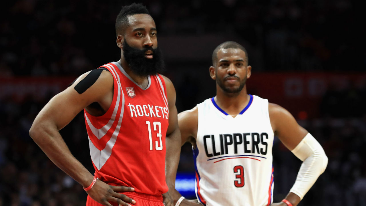 James Harden admits Carmelo Anthony would help Rockets 'tremendously'