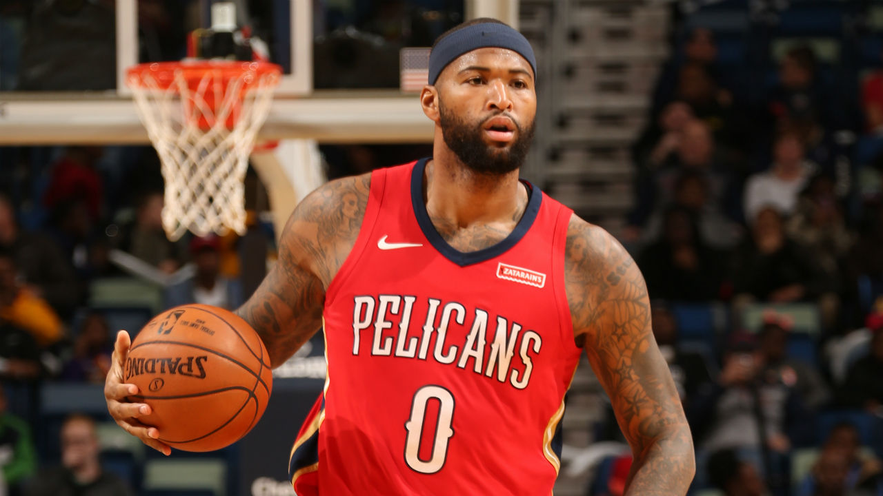 Cousins explodes for 40 points, 22 rebounds to lead Pelicans past Nuggets