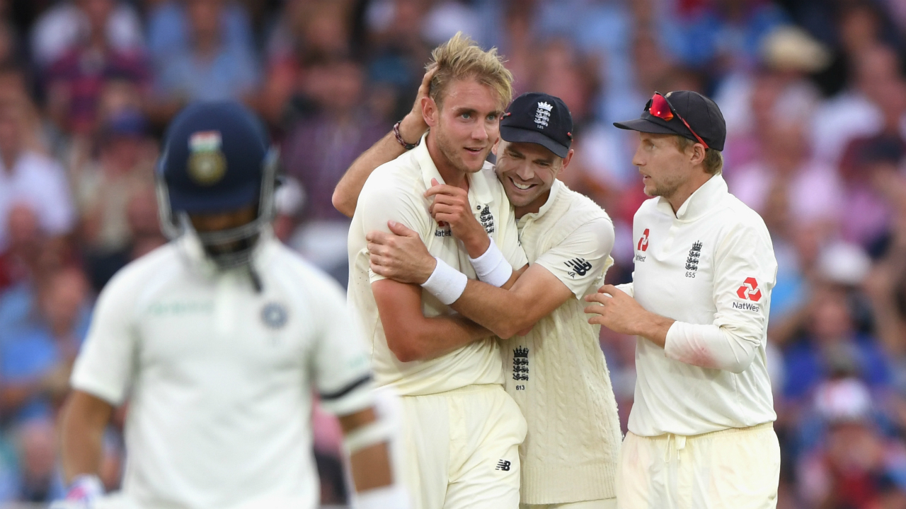 Stuart Broad fined 15 per cent of match fee for 'aggressive language'
