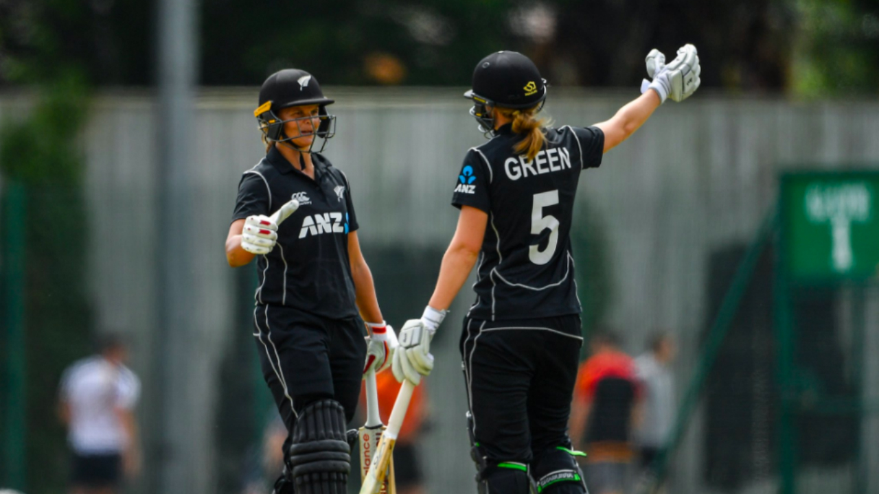 New Zealand women shatter ODI team score record in Ireland thrashing