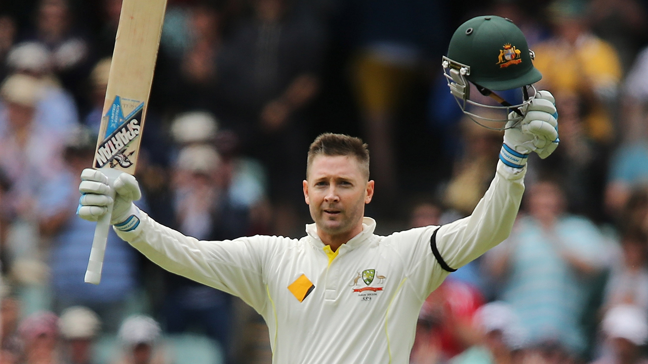 Ashes Test: Australia 5-389 at lunch as Michael Clarke hits century