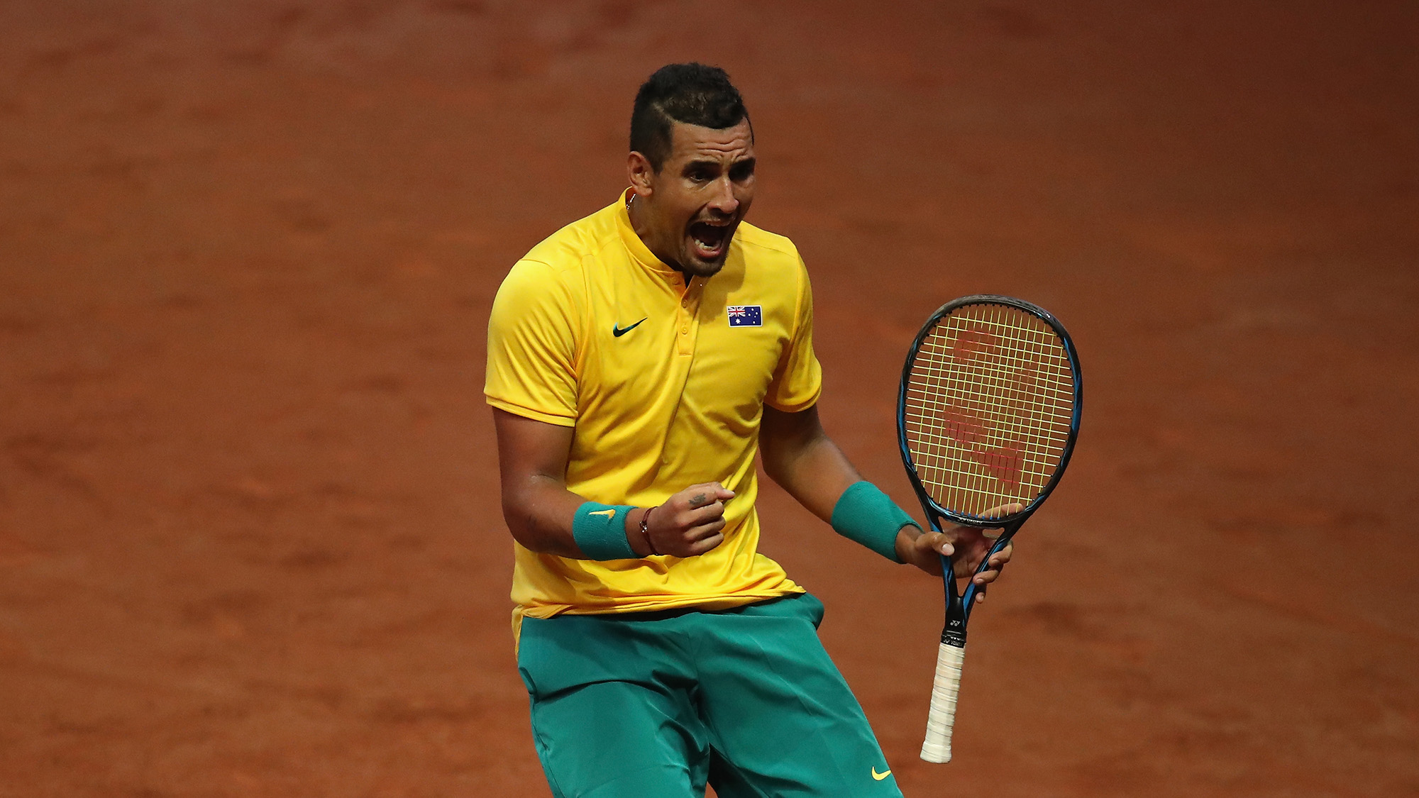 Kyrgios Outduels Darcis to Even Australia with Belgium