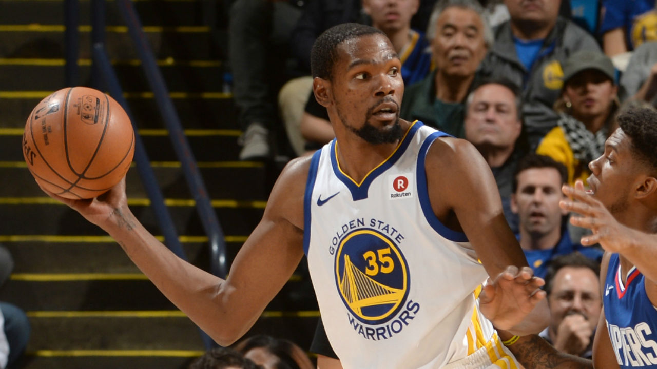 Durant becomes 2nd-youngest to 20K points