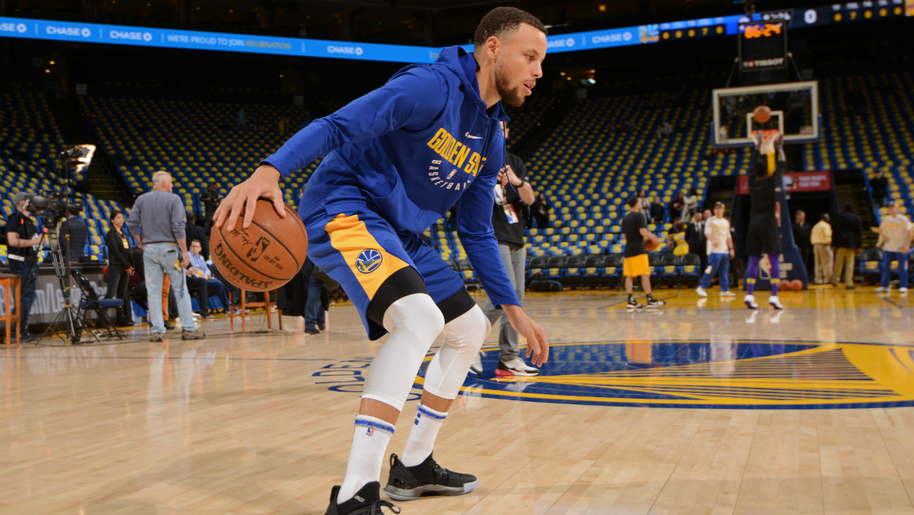 Stephen Curry Cleared To Return After Six-Game Absence