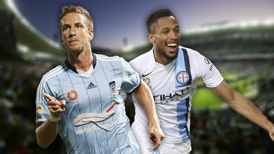 A-League.  Sydney FC v Melbourne City