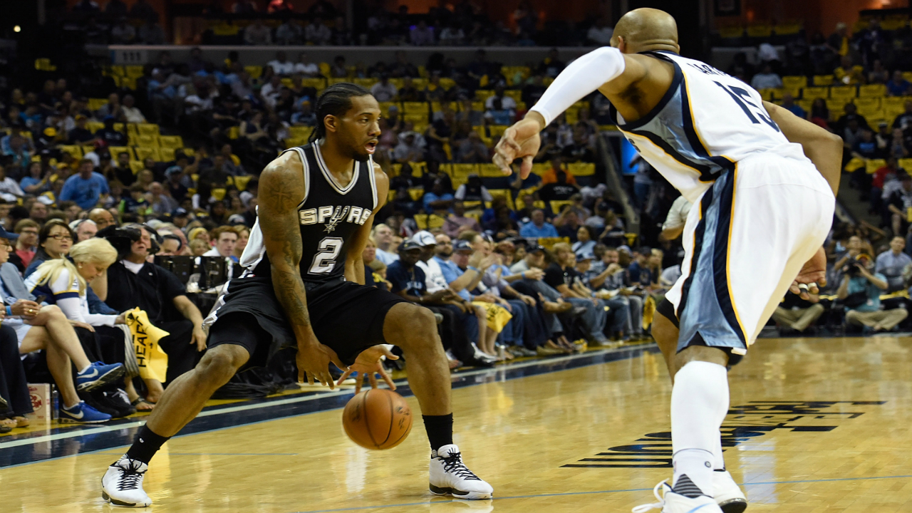 The Grizzlies can't stop Kawhi Leonard