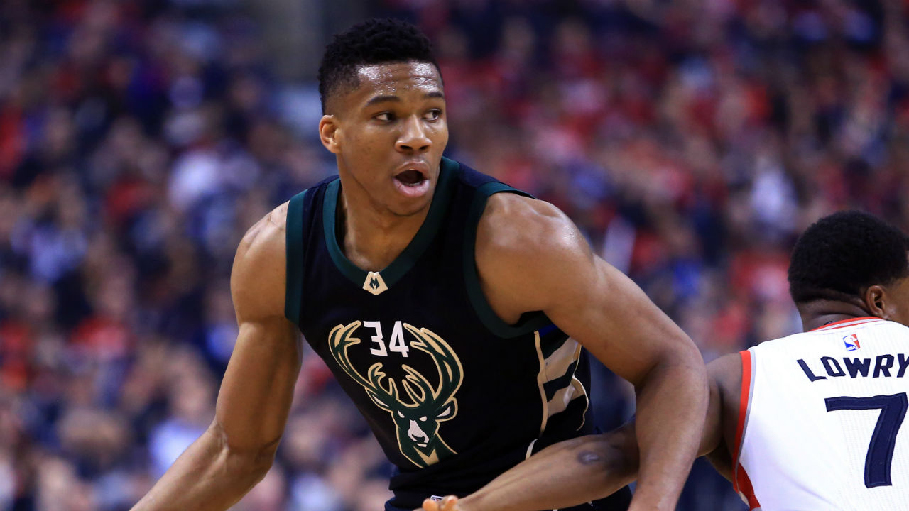 Giannis Antetokounmpo Dazzles in Playoff Debut for Milwaukee Bucks