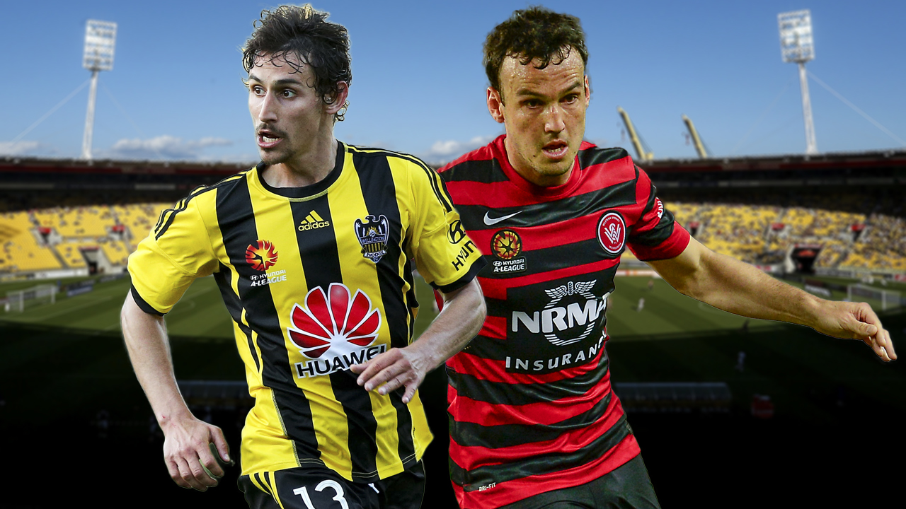 A-League. Wellington Phoenix v Western Sydney Wanderers