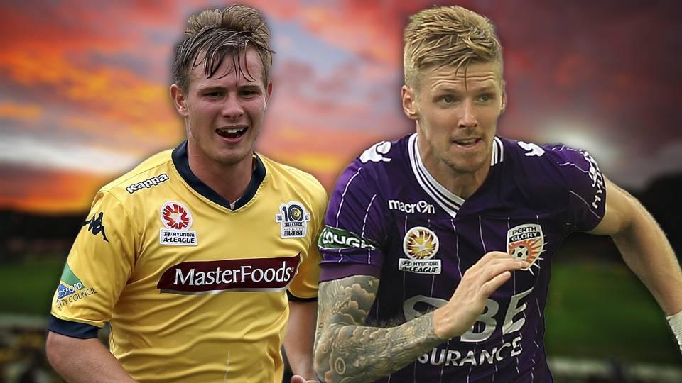 A-League.  Central Coast Mariners v Perth Glory