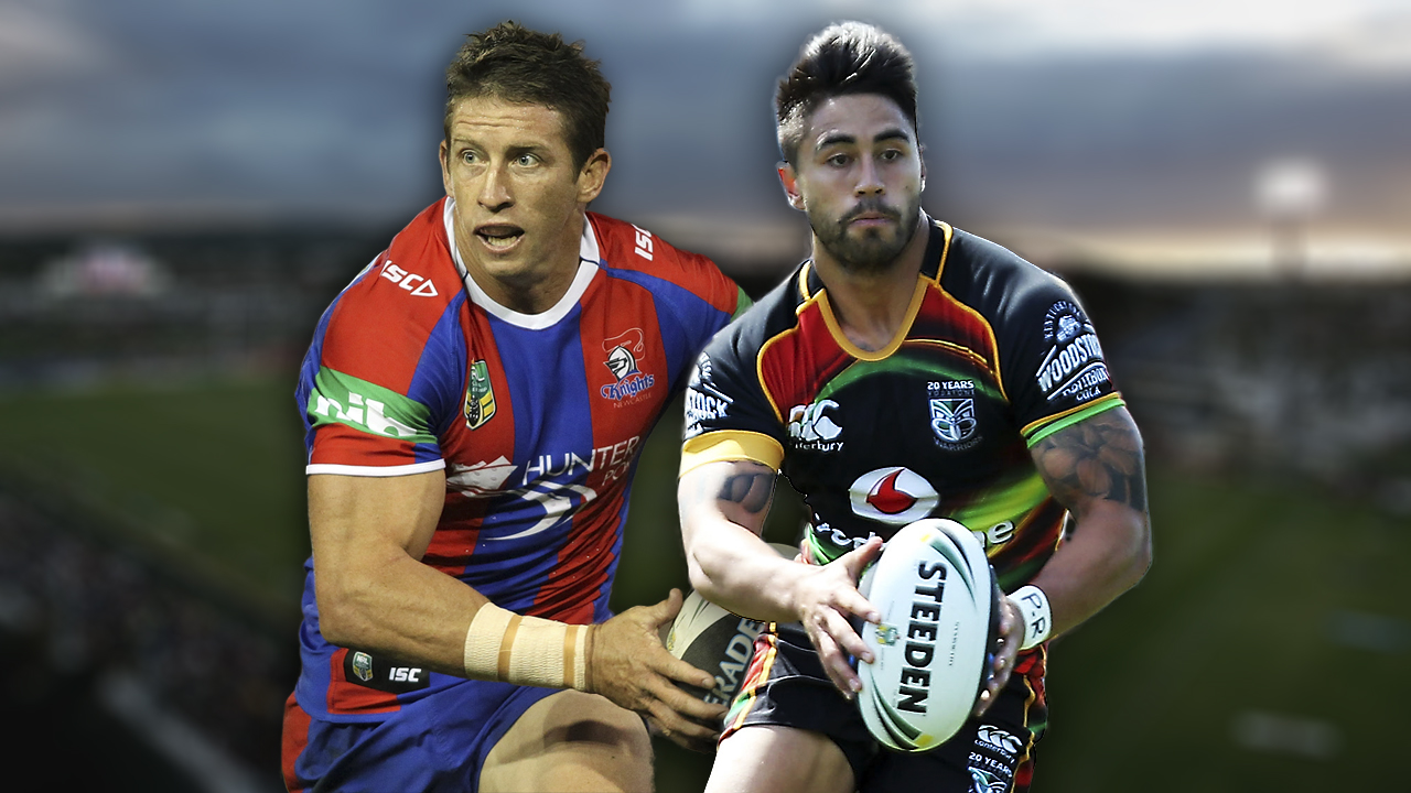 NRL. Knights v Warriors
