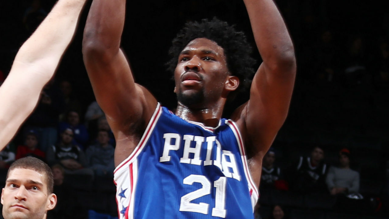 Joel Embiid thinks Philadelphia 76ers could make the playoffs this year