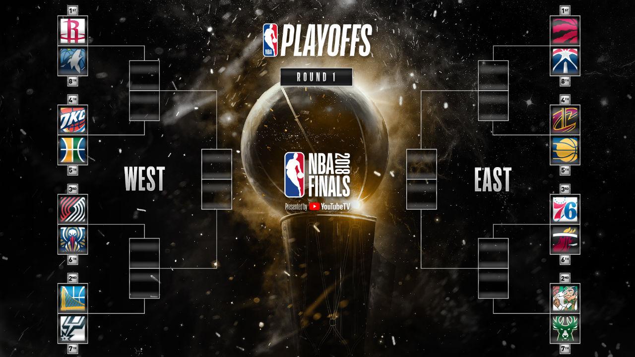 NBA playoffs 2018: Bracket, first-round schedule, dates ...