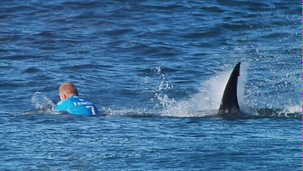 Mick Fanning Forced From The Surf After Yet Another