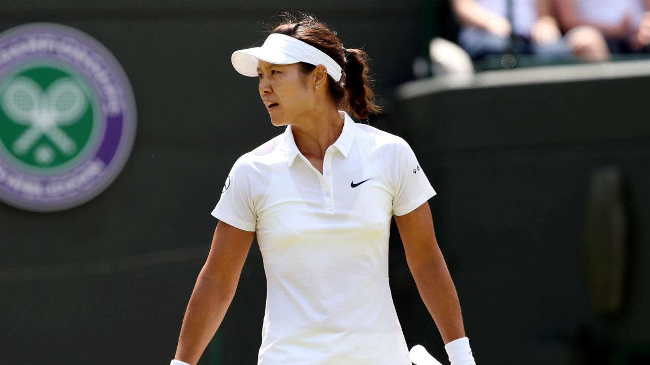 Li shocked at Wimbledon as Halep progresses