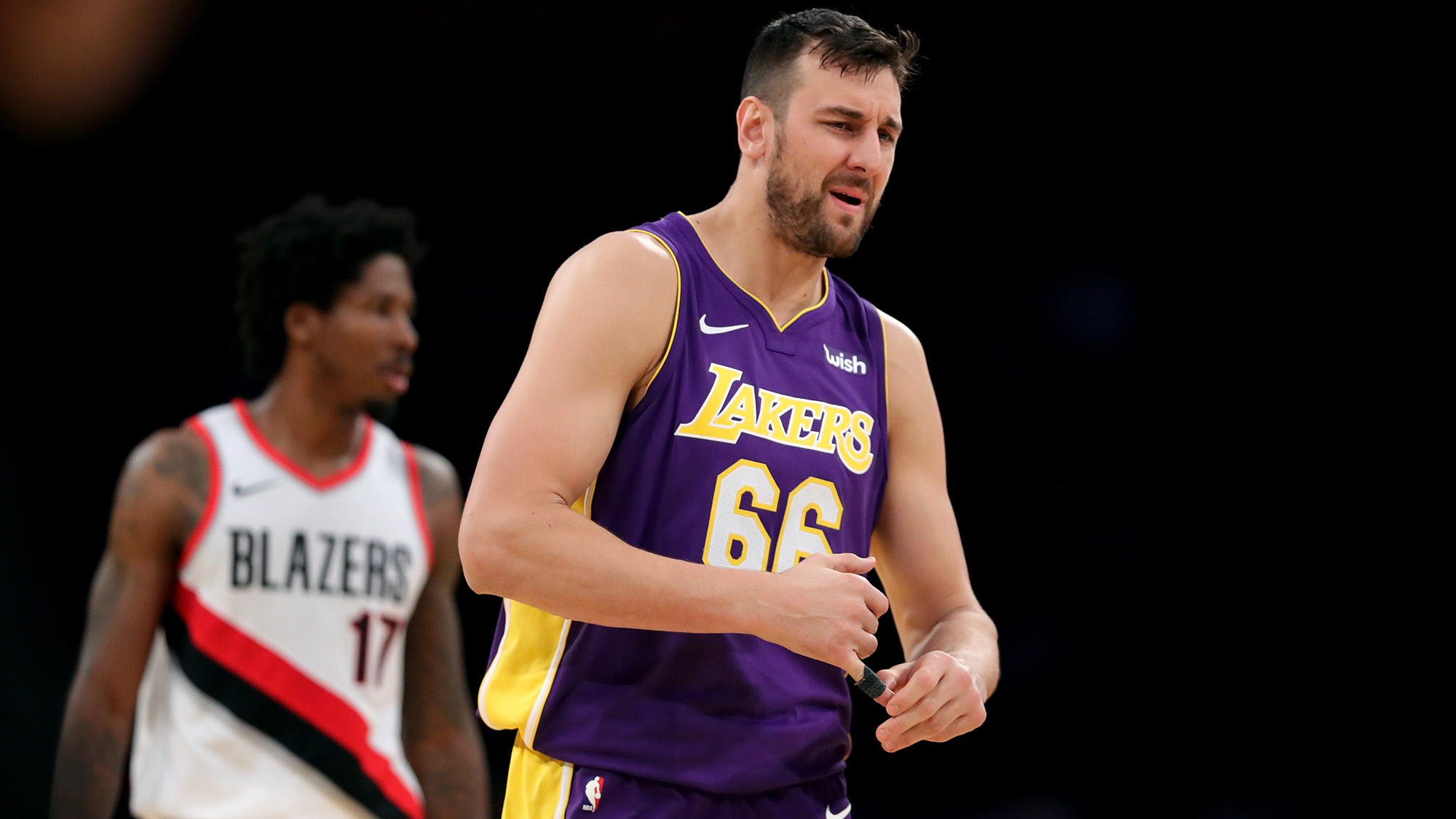 Lakers waive veteran center Andrew Bogut after 24 games