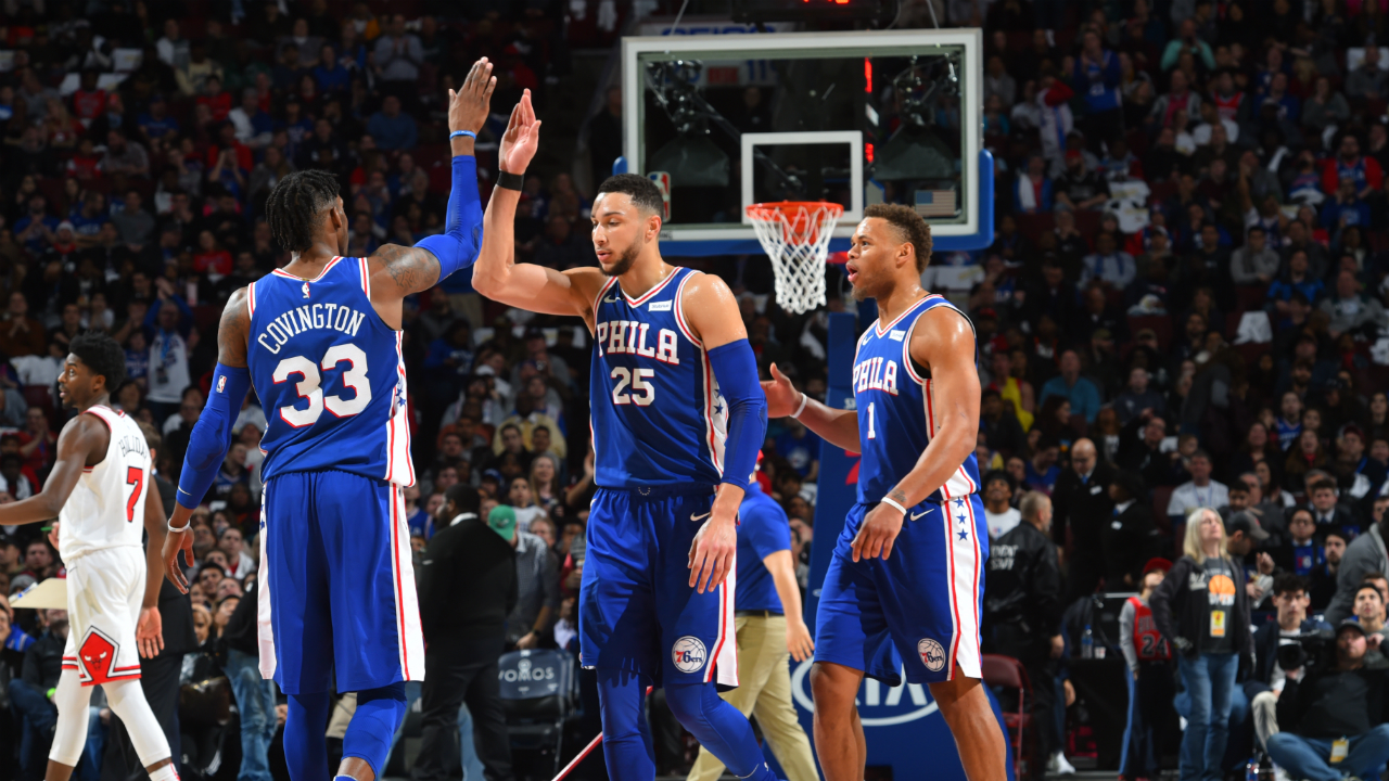 Simmons' triple-double leads Sixers past Bulls