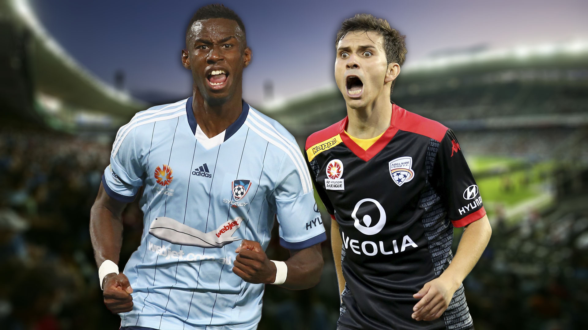 A-League.  Sydney FC v Adelaide United