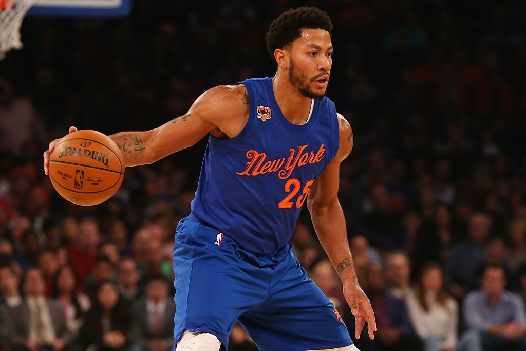 Derrick Rose Hopes Absence Won't Change His Future With Knicks