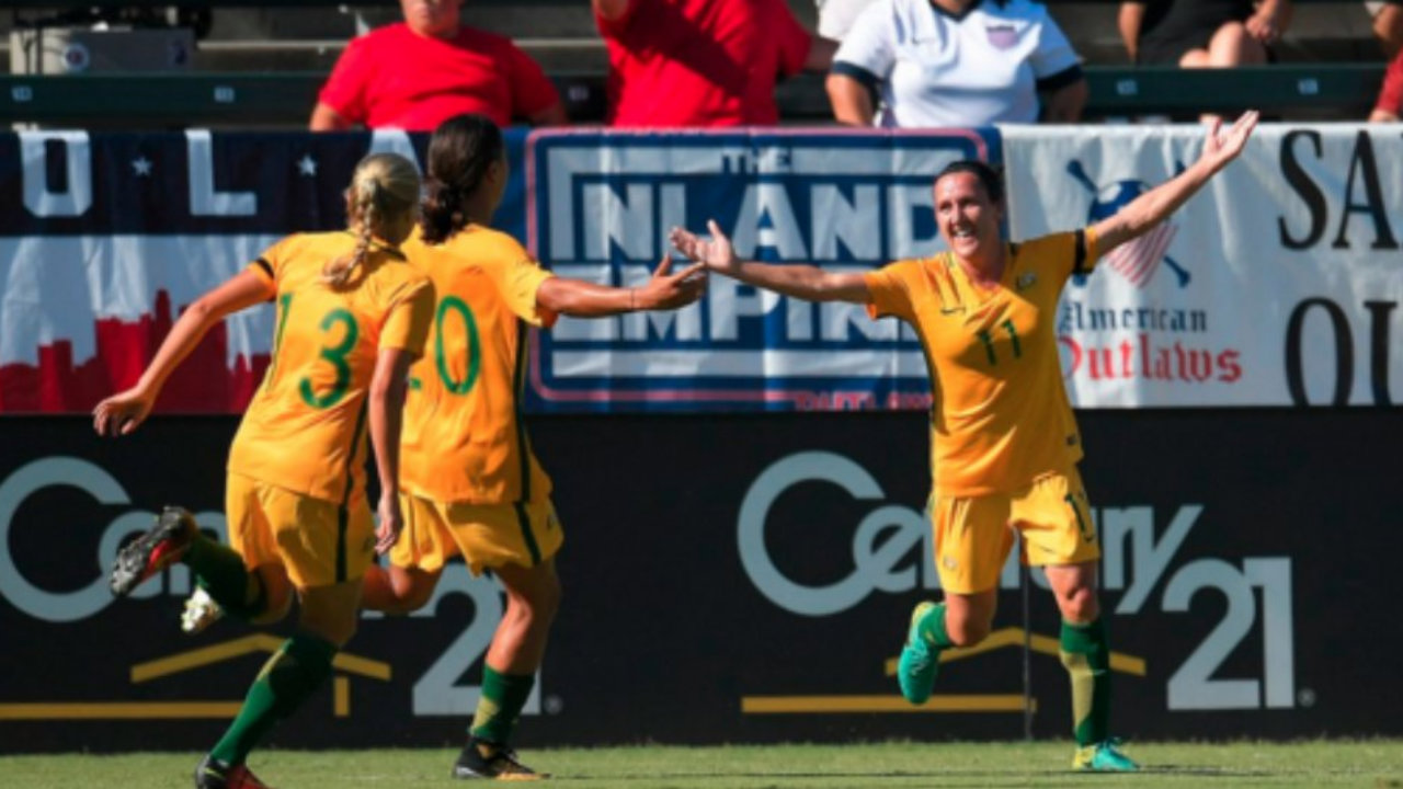 Australia's women rout Brazil 6-1 to win Tournament of Nations