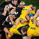 (Header) Wallabies vs All Blacks scrum. Oct 16 2011