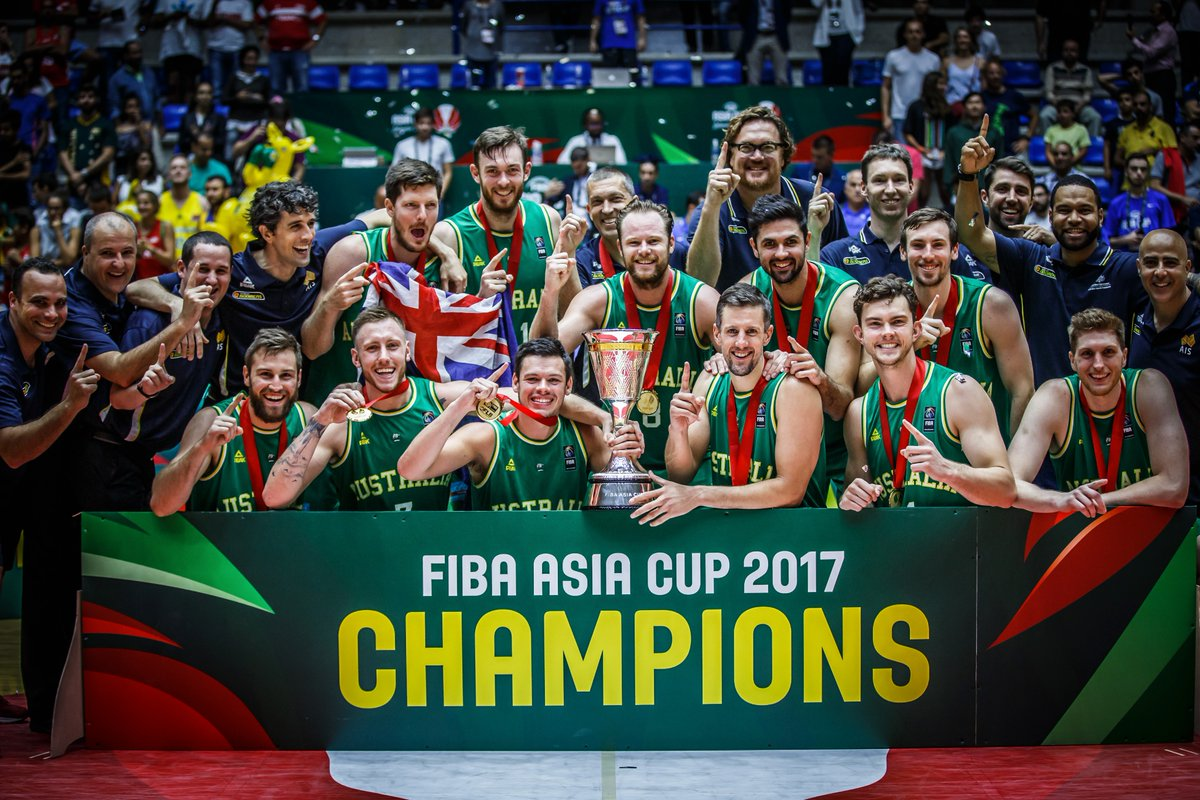 Australia Defeats Iran To Claim Asian Cup Basketball Title