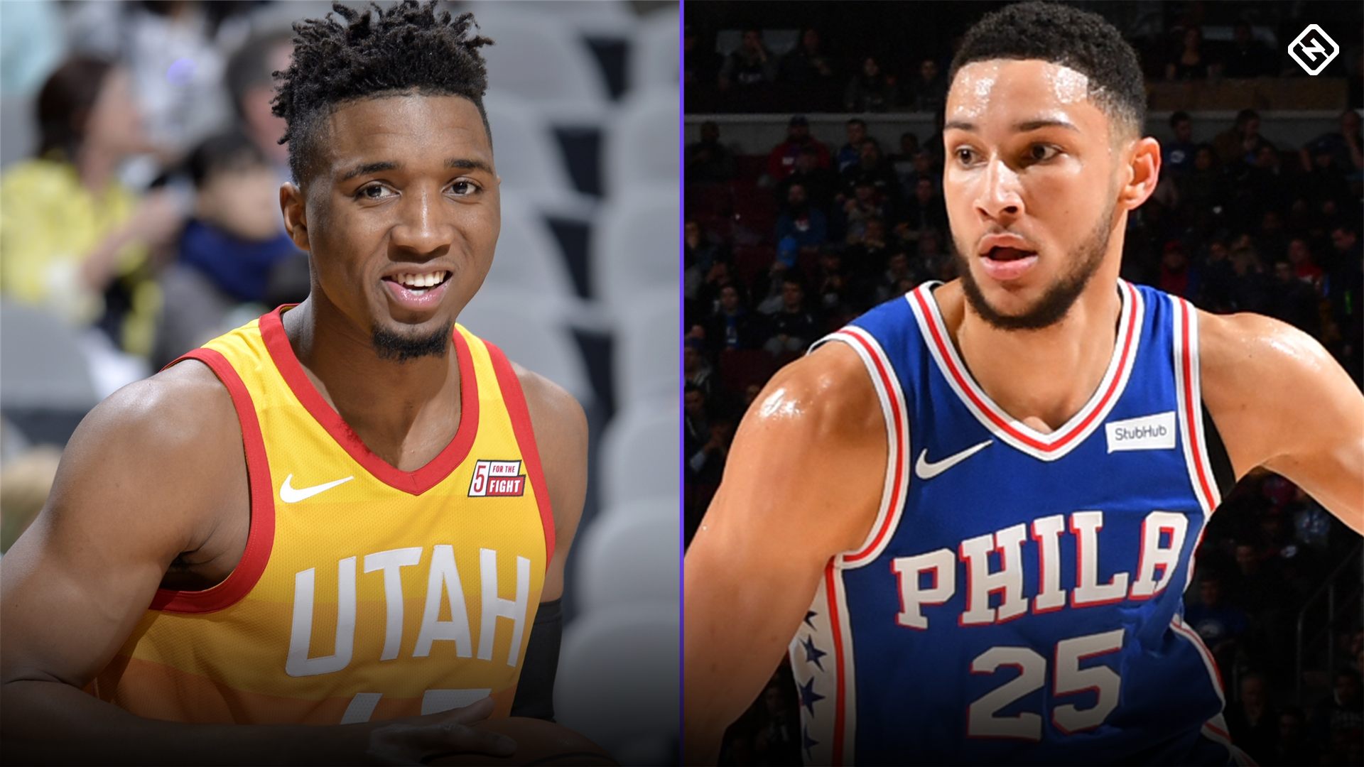 Donovan Mitchell throws shade at Ben Simmons with 'rookie' hoodie