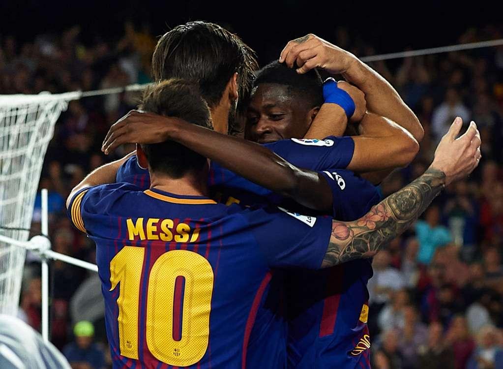 WATCH: Messi nets hat-trick in Barcelona's big win