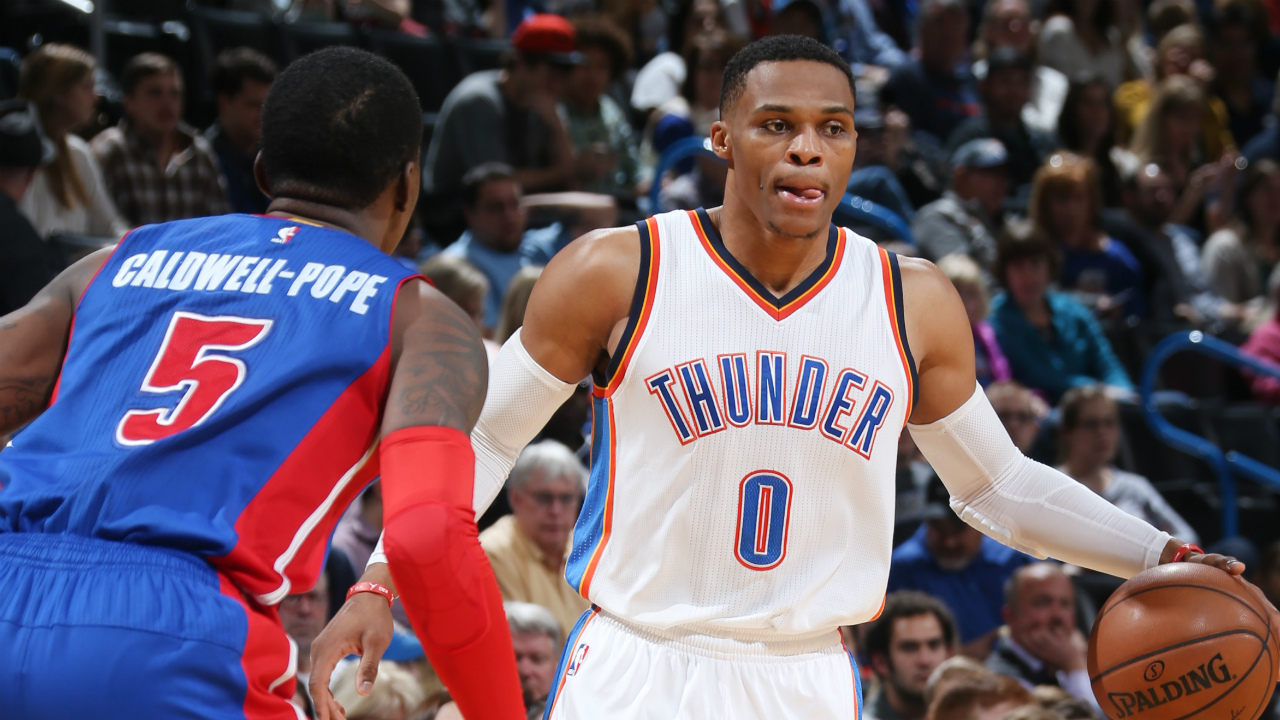 Pistons fall to Westbrook and the Thunder