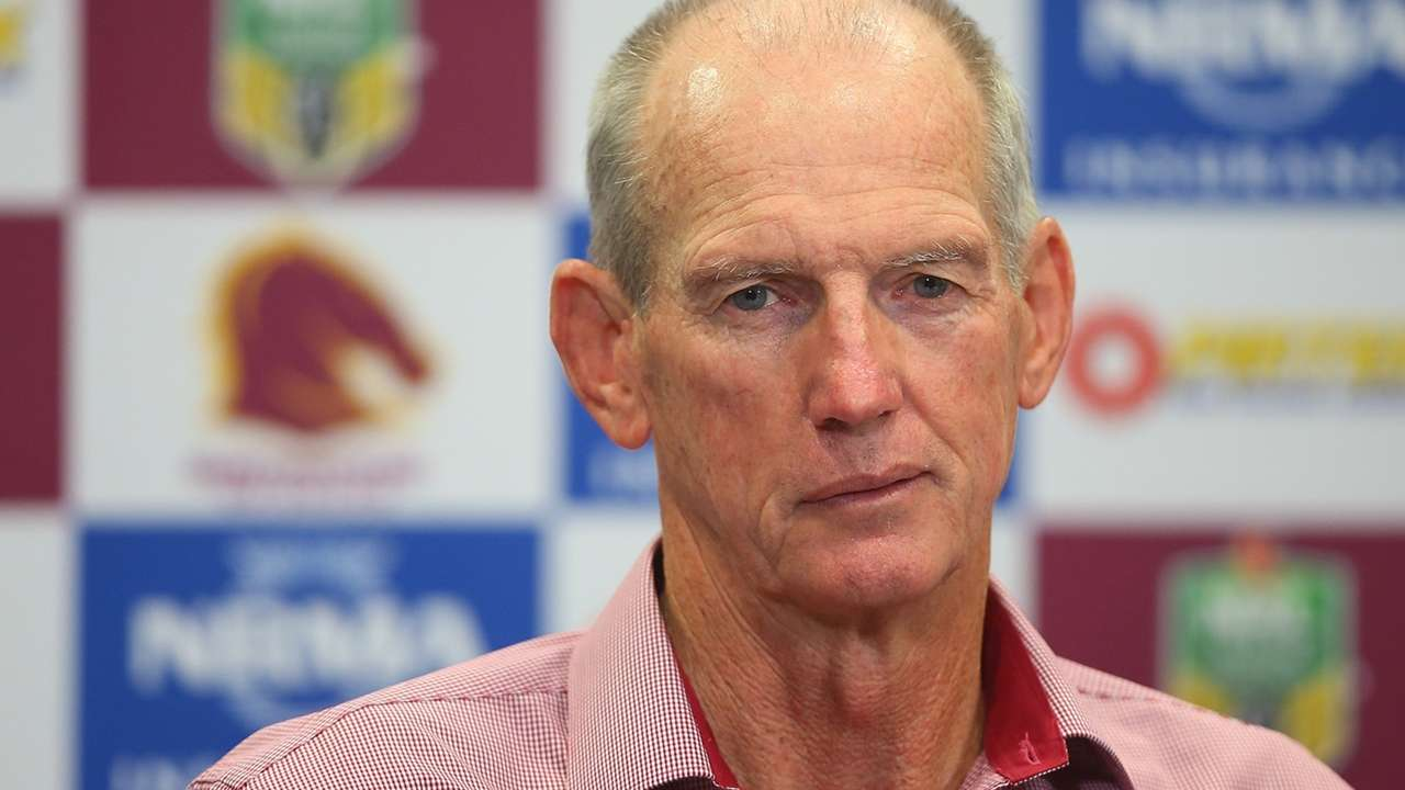Wayne Bennett Bans His Brisbane Broncos Players From Protesting Against The Nrl League Sporting News