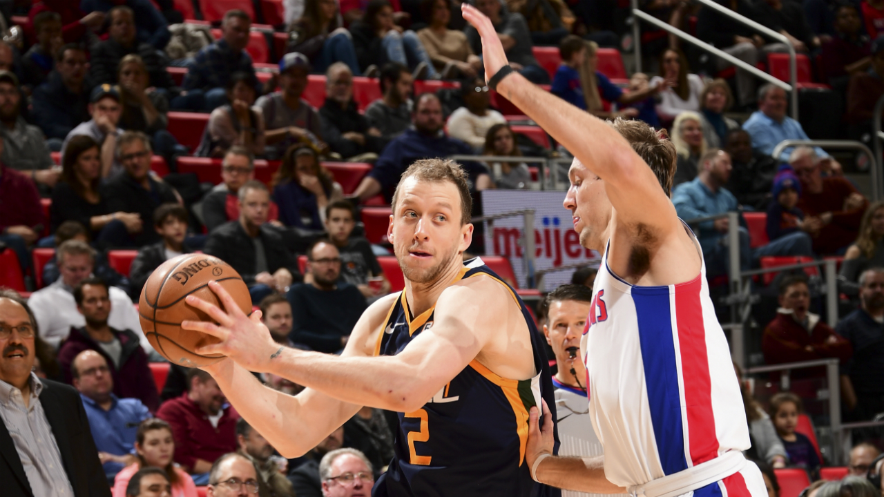 Pistons lose 98-95 in OT to Jazz
