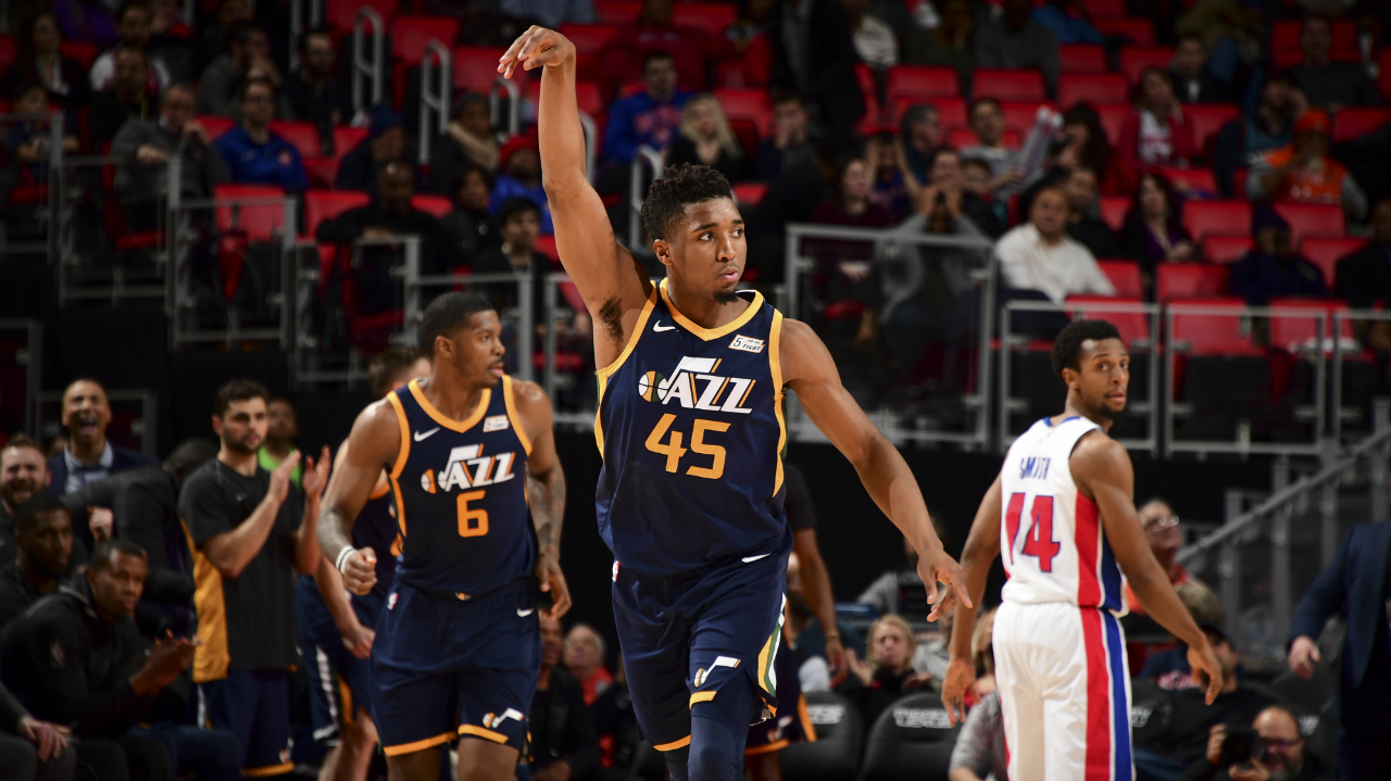 Jazz rally late, beat Pistons in OT