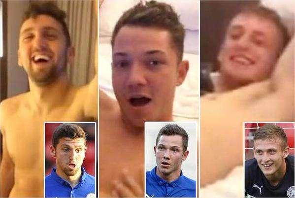 sport football news leicester city racist orgy video