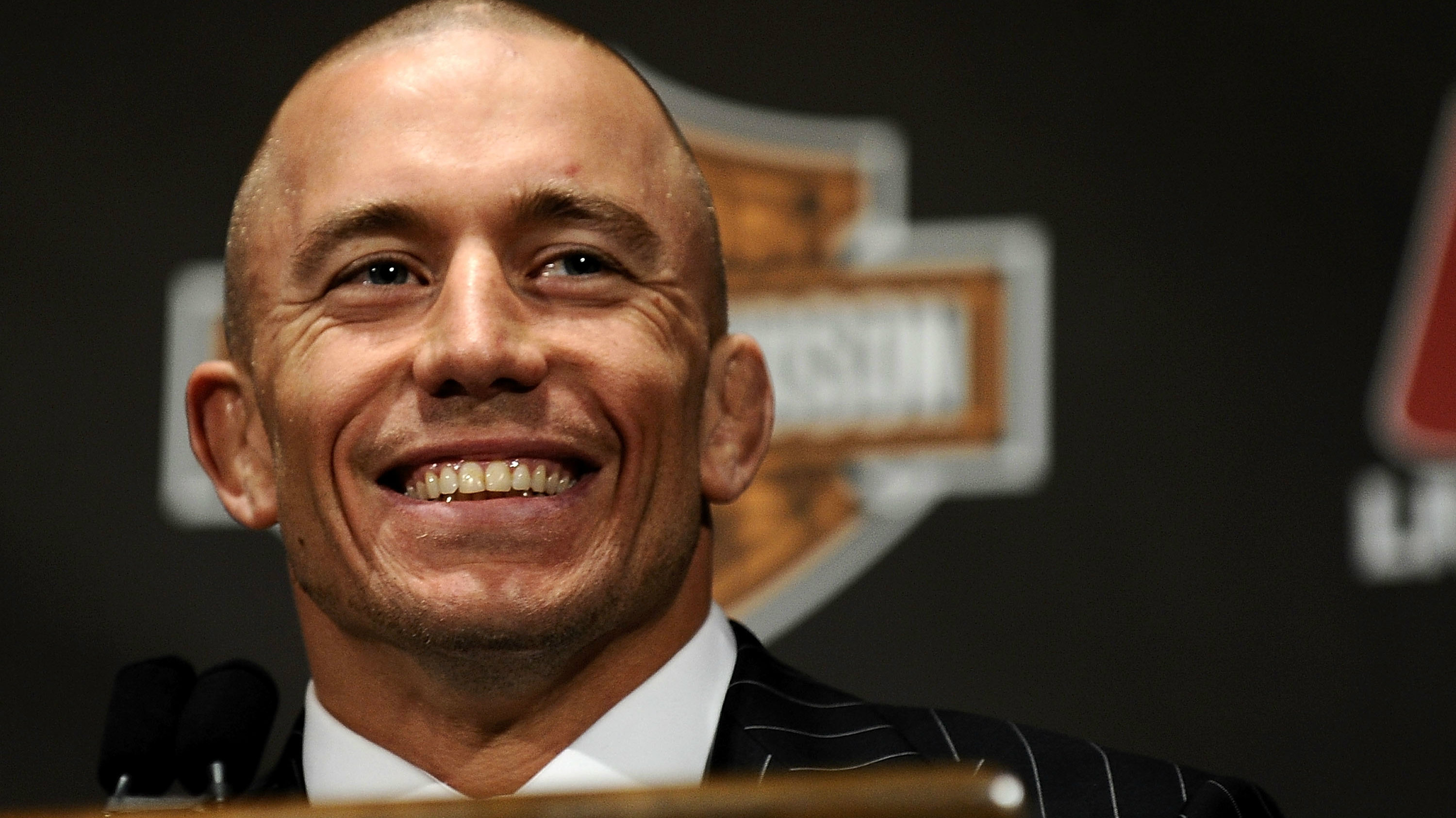 Dana White on Georges St-Pierre: 'He's back. I'm excited'