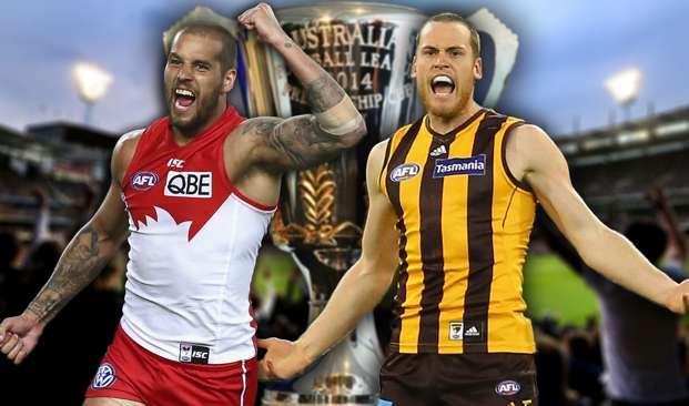 AFL Final. Sydney Swans v Hawthorn Hawks