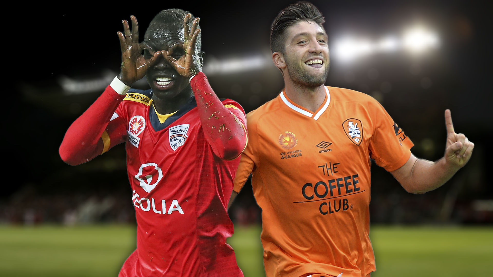 A-League.  Adelaide United v Brisbane Roar