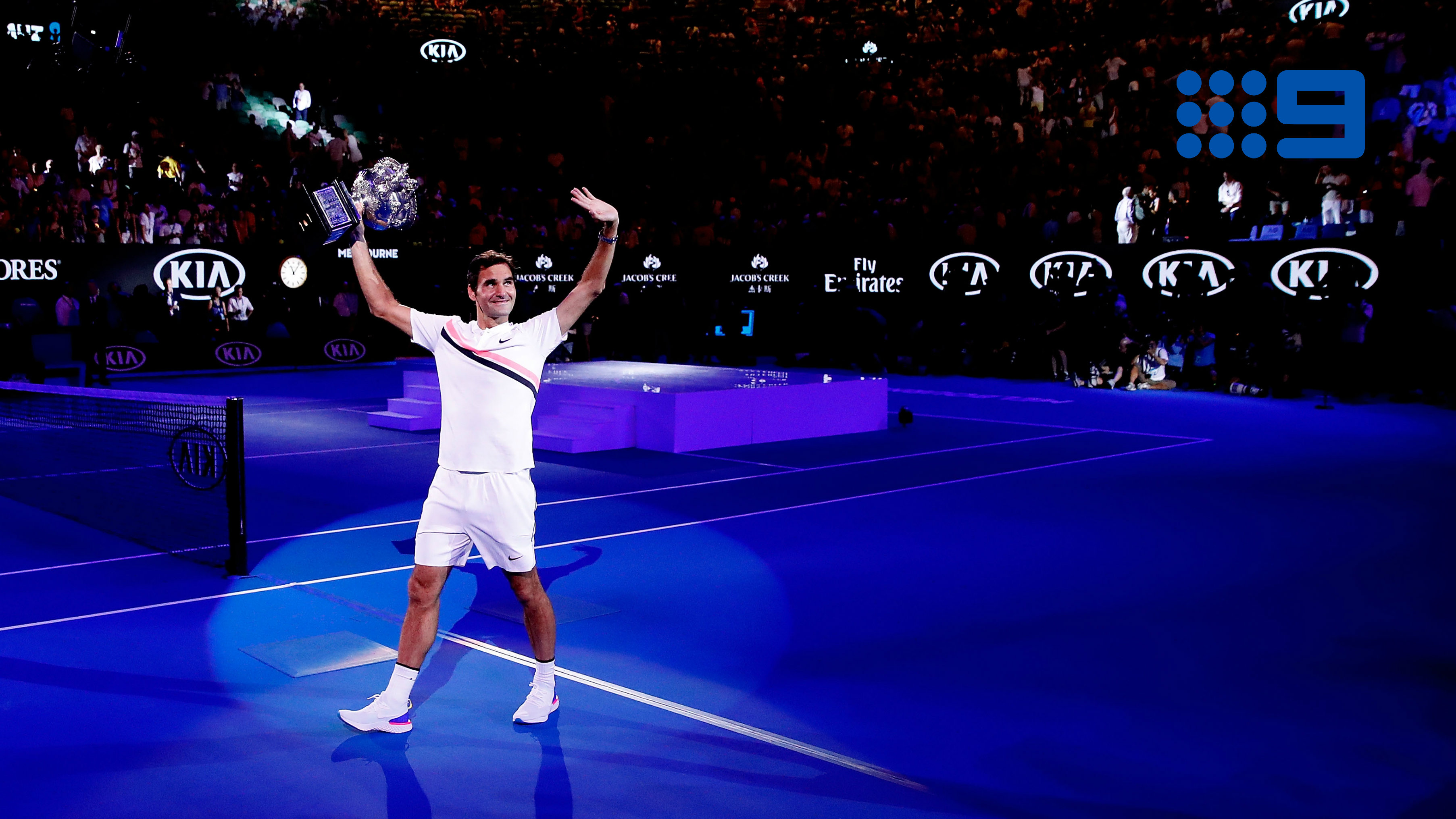 Game, set and match: Nine ace secures sixth year of Australian Open