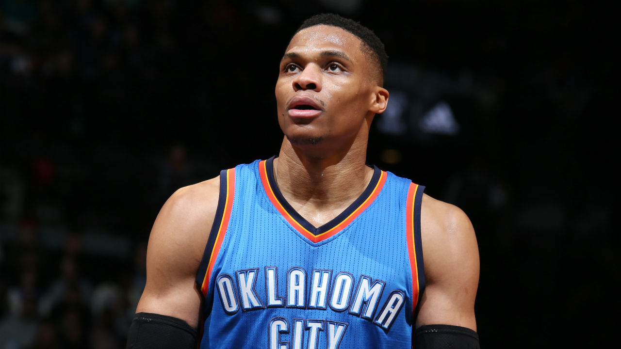 Russell Westbrook's triple-double lifts Thunder over pesky Nets