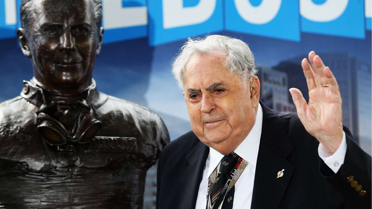 Three-time F1 world champion Sir Jack Brabham passes away