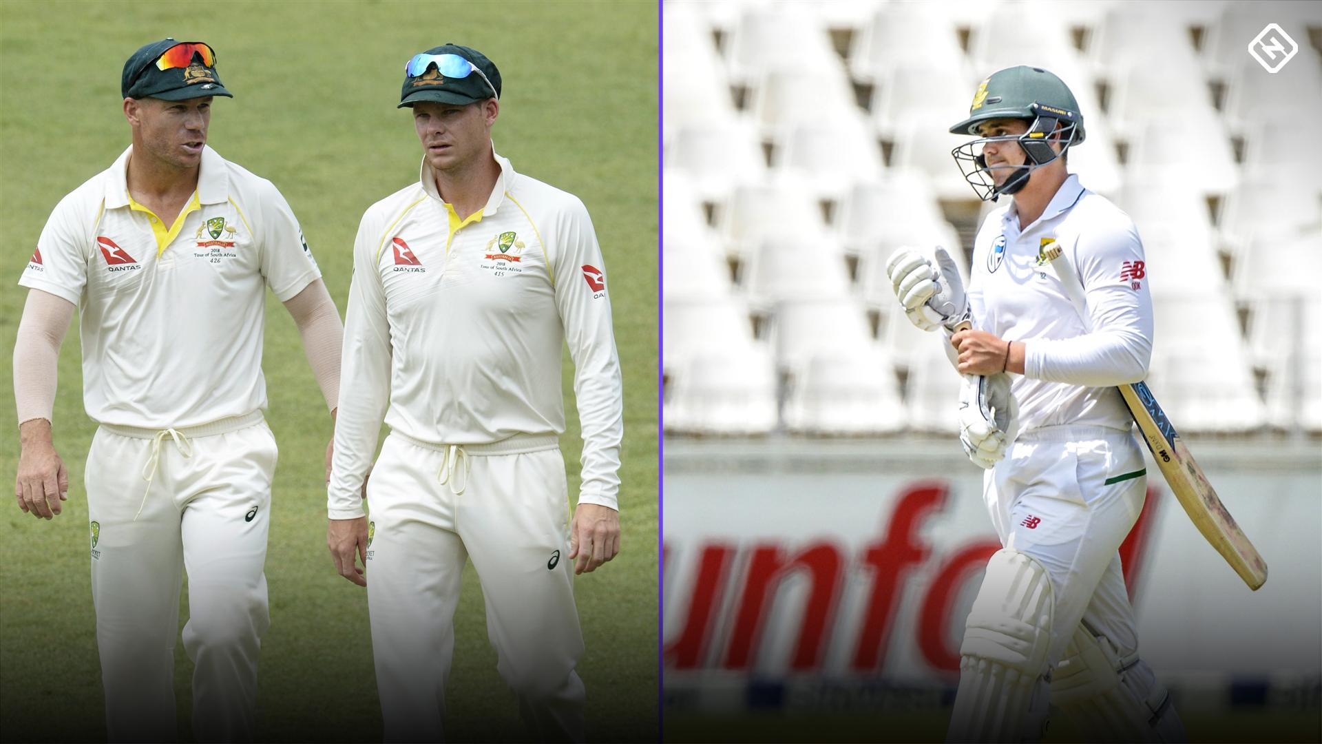 Cricket Australia probe Warner, de Kock first Test row