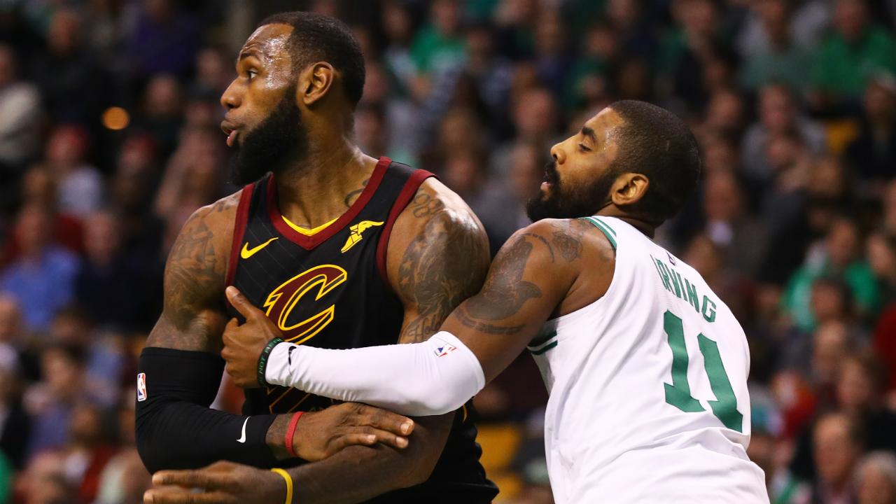Kyrie Irving Likes Instagram Video Of Furious LeBron James Ripping Into Cavs