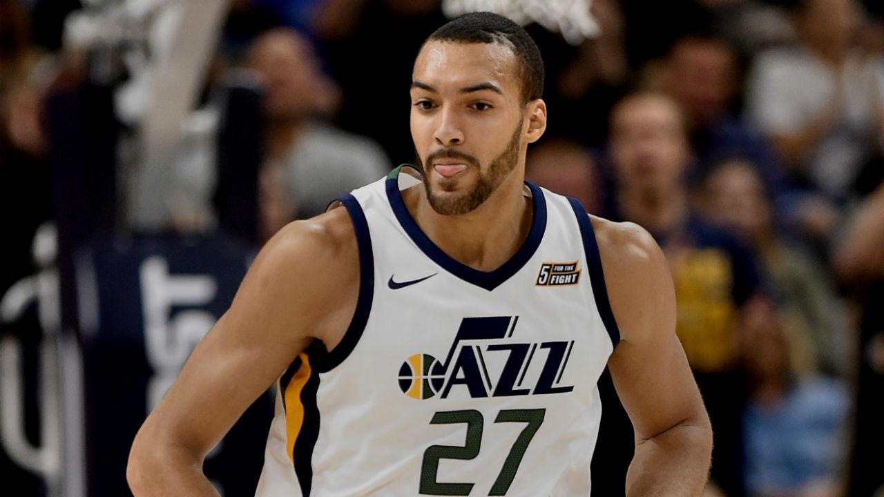 Utah Jazz center Rudy Gobert ahead of schedule, could ...