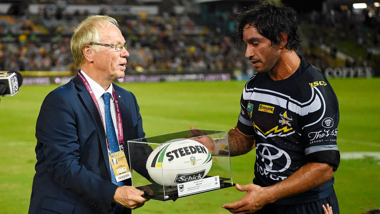 Embarrassing gaffe by new Australia rugby league chief