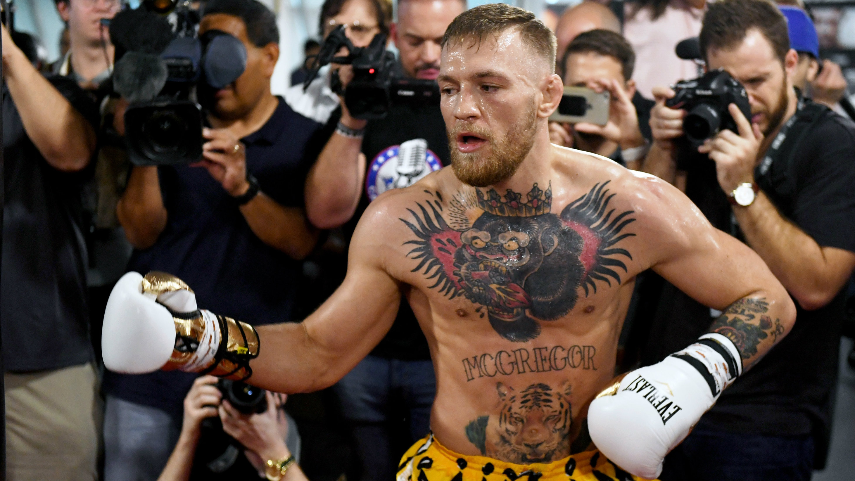 Mayweather sparring partners say McGregor has no chance
