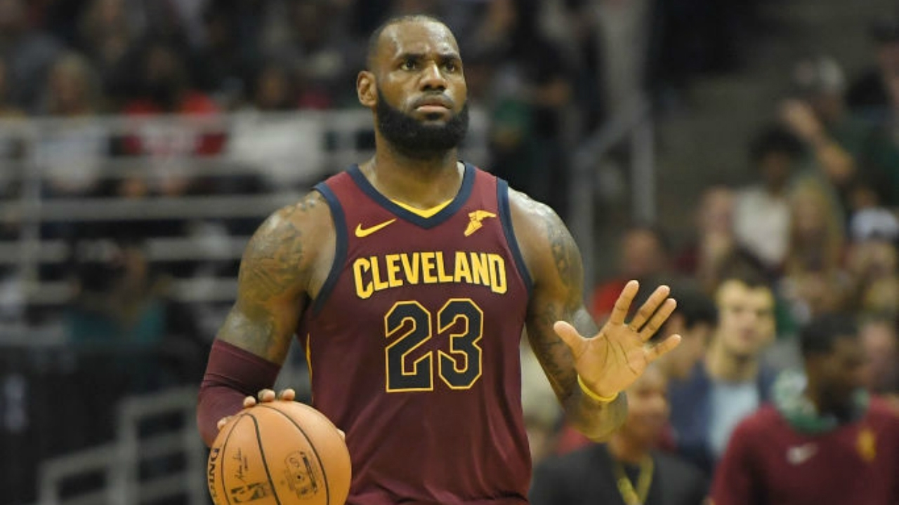 LeBron James explains how he learned to play every basketball
