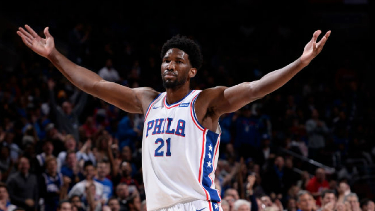 76ers hoping huge man Joel Embiid will play tonight vs. Wolves