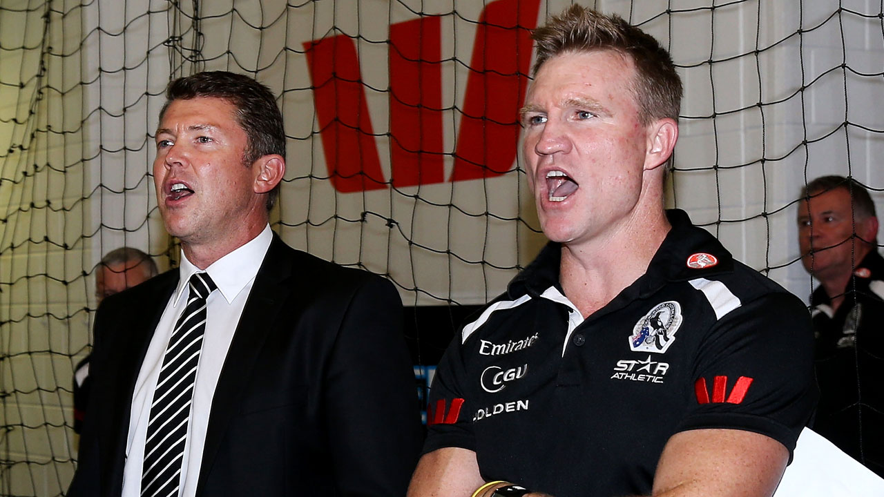 CEO Gary Pert has confirmed his resignation from Collingwood