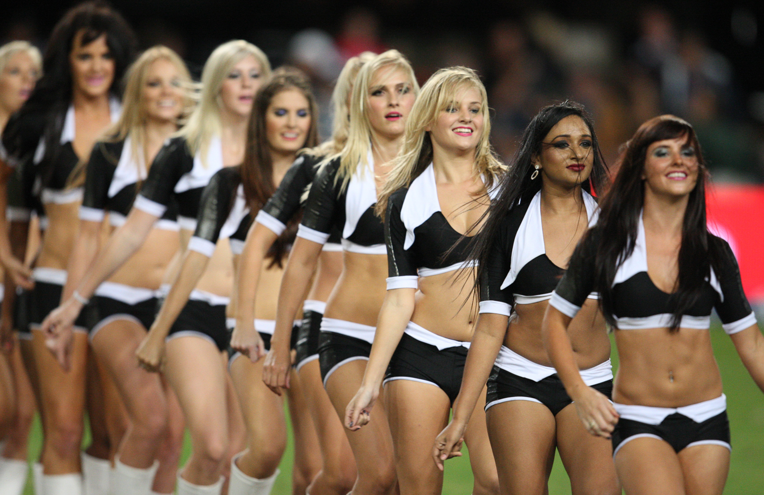 Gallery. Super Rugby Cheerleaders