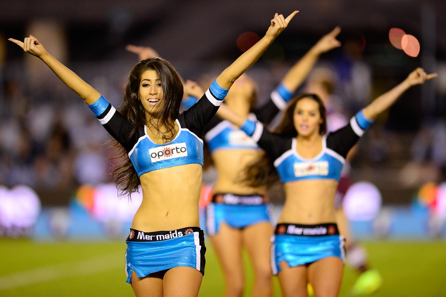 Gallery. NRL Cheerleaders